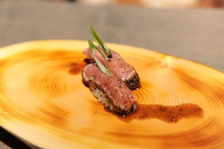 Venison Sushi