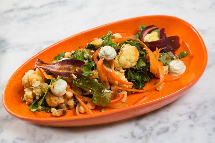 Cauliflower dish at DIRT