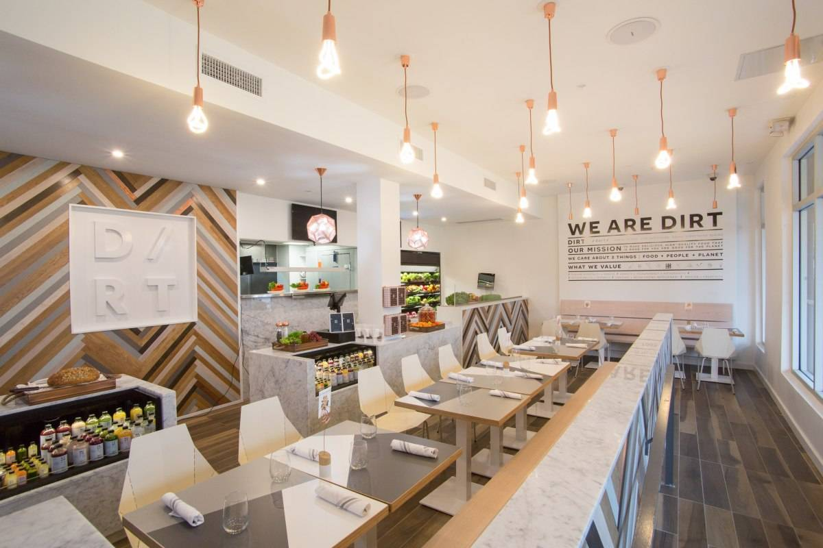 The cleanest sandwich in miami beach is at a place called dirt