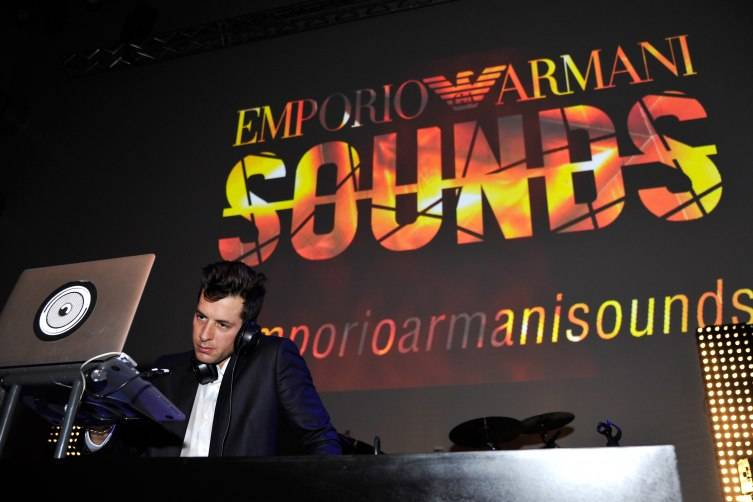 DJ/producer Mark Ronson attends Emporio Armani Sounds Los Angeles