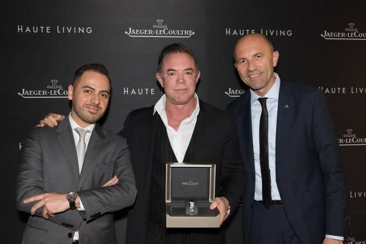 Fernando Guiterrez-Locken, Shareef Malnik and Michele Migliaccio