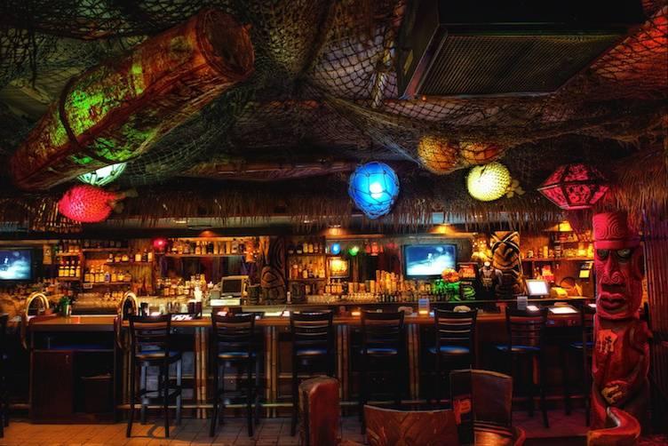 Tiki Room Decor