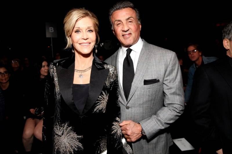 Jane Fonda & Sylvester Stallone