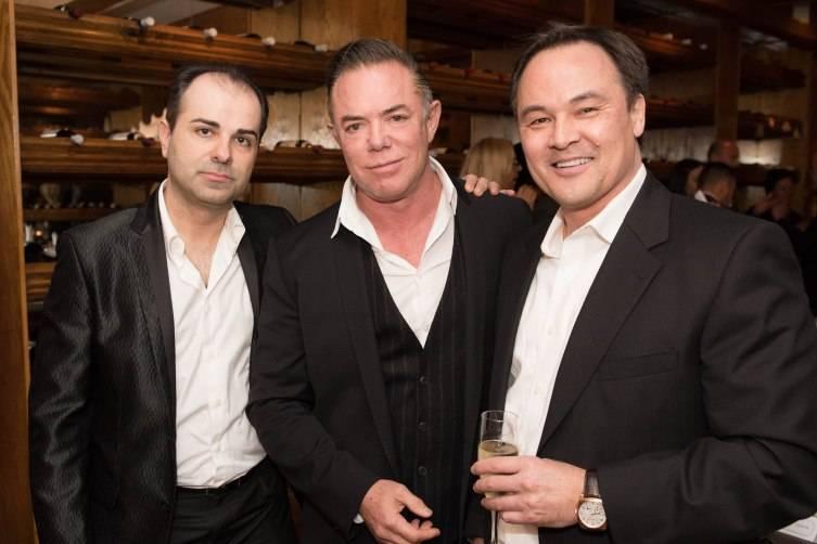 John Scarlatos, Shareef Malnik, and Richard Combs