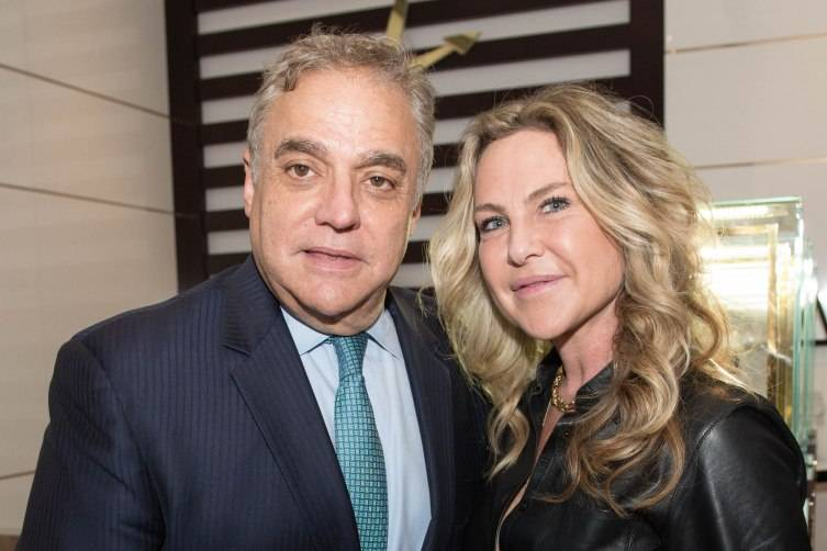 Lee Schrager with Orly Adler