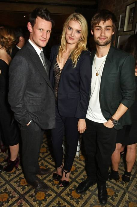 Matt Smith, Lily Donaldson and Douglas Booth
