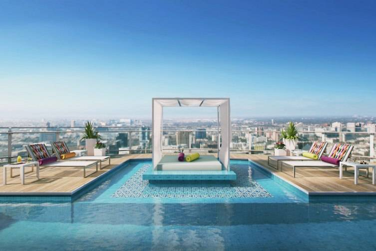 Conceptual Design of Rooftop Pool by Paul Duesing