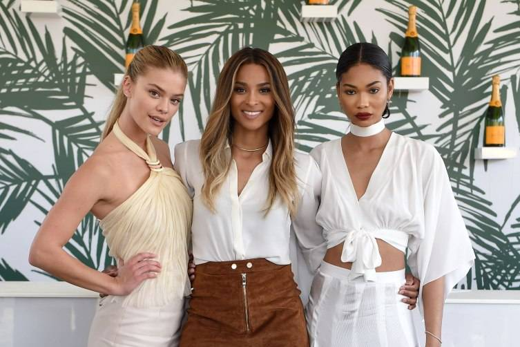 Nina Agdal, Ciara and Chanel Iman