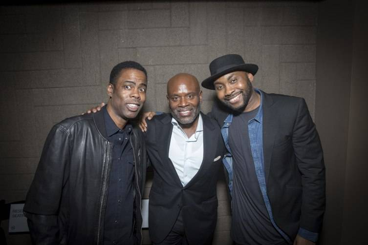 CHRIS ROCK, L.A. REID & OMAR DUBOIS