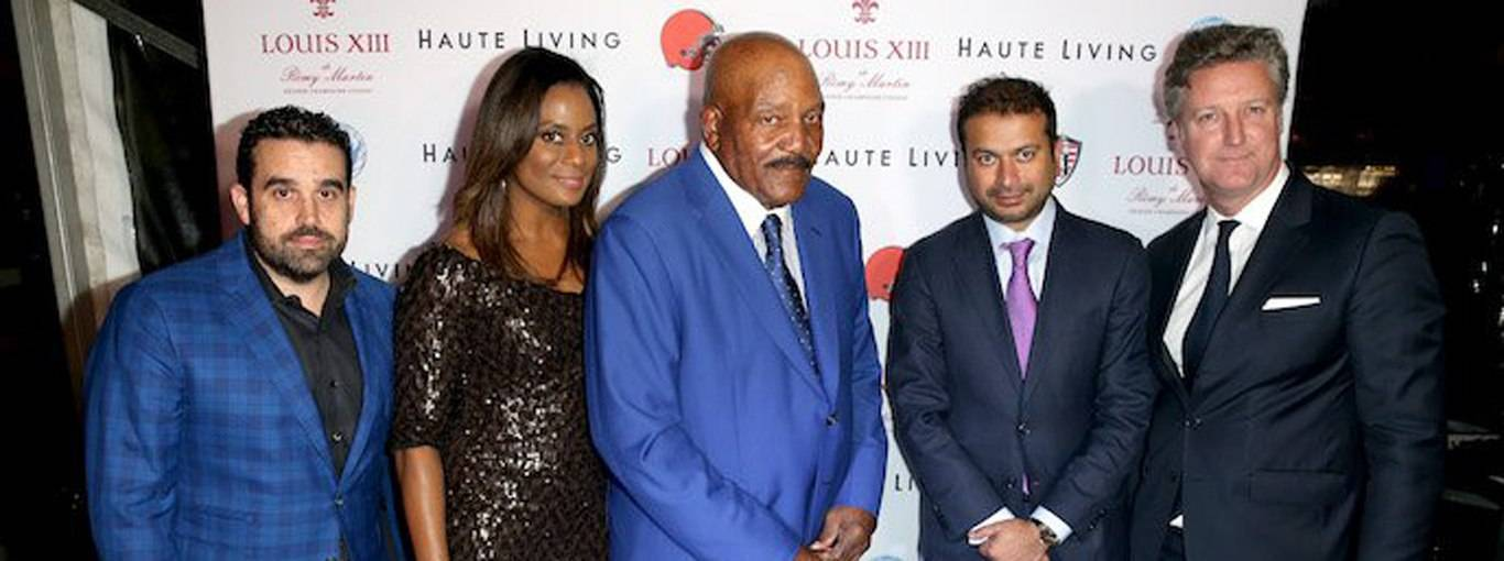 Inside The Haute Living and Louis XIII 80th Birthday Dinner For NFL Great Jim Brown