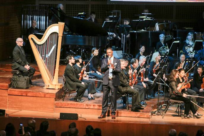 Marcus Allen and the San Francisco Symphony