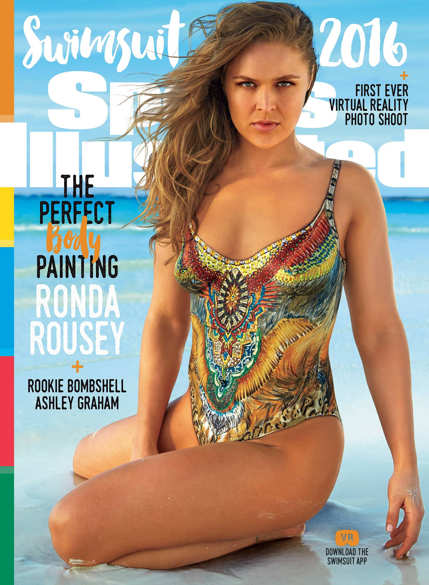 Ronda Rousey—Credit: Frederic Pinet/Sports Illustrated