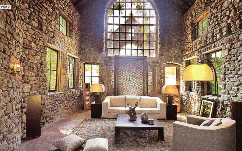 stone barn castle - haute living