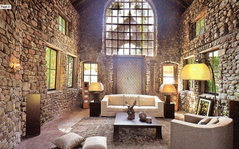 stone barn castle - haute living
