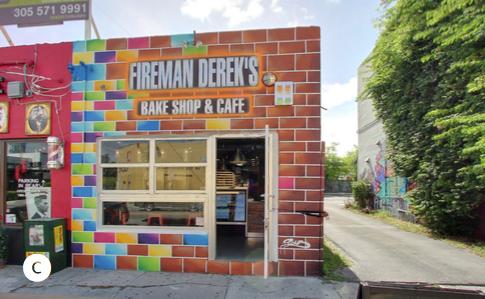 FIREMAN DEREK'S BAKE SHOP