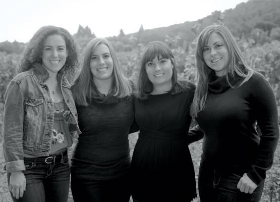 Giovanna, Riana, Alycia and Angelina Mondavi