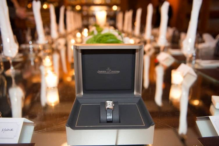 Jaeger-LeCoultre Reverso gift to Malnik and Anwar