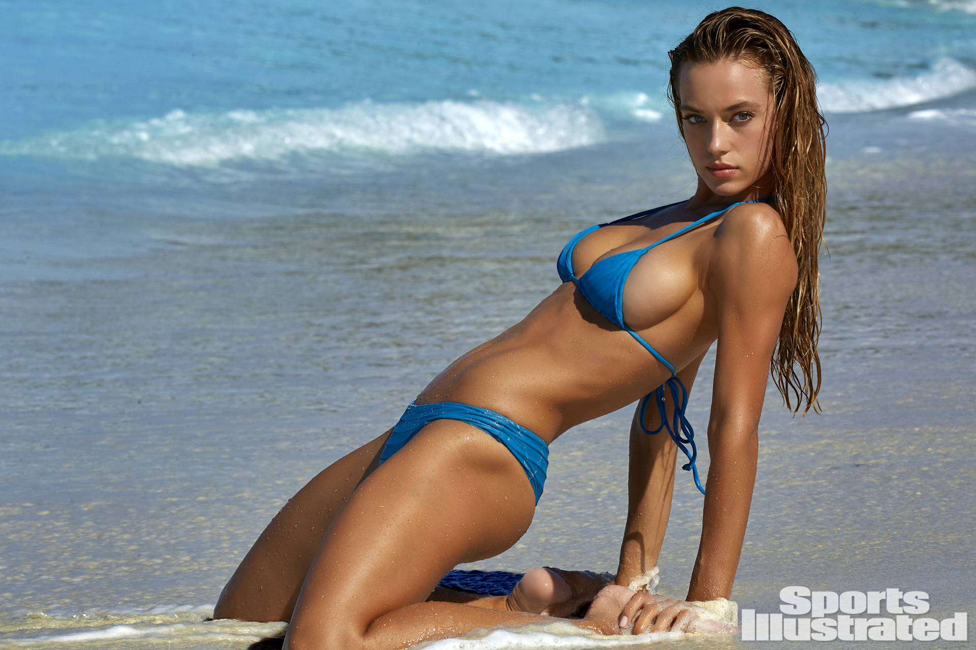 Hannah Davis—Credit: Yu Tsai/Sports Illustrated