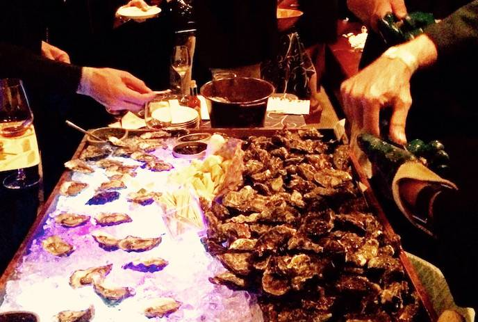 Oyster Bar hosted by Hog Island Oyster Co. at the Welcome Party