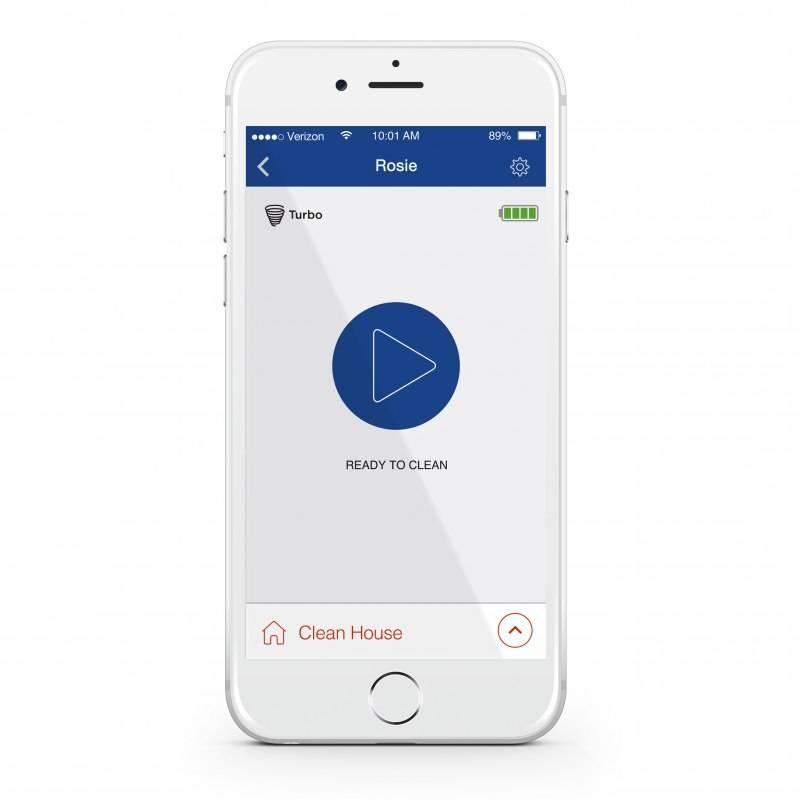 Neato's Smartphone app