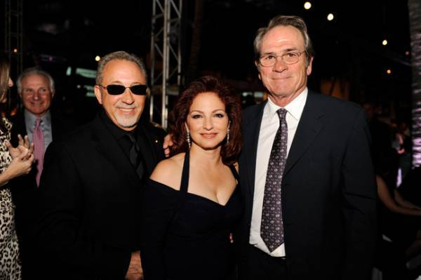 Emilio and Gloria Estefan, Nick Buoniconti