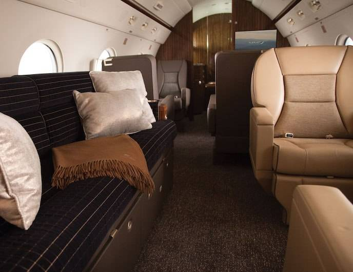Flexjet's Gulfstream G450