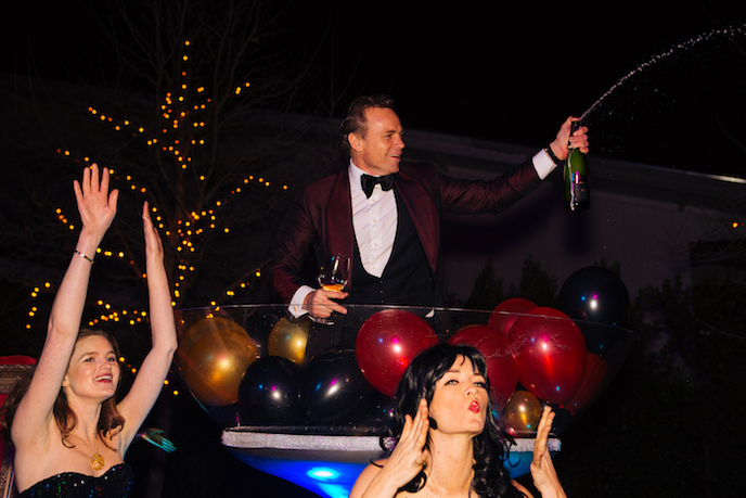Jean-Charles Boisset at Napa Gras at Raymond Vineyards