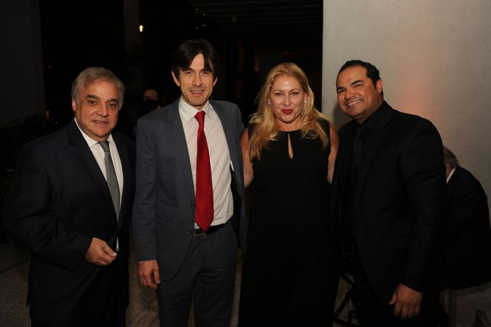 Lee Brian Schrager, Ricardo Restrepo, Leann Standish, & Johnny Chavez by WRE