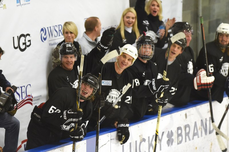 Echoes of Hope holds the Luc Robitaille Celebrity Shootout at Toyota Sports Center
