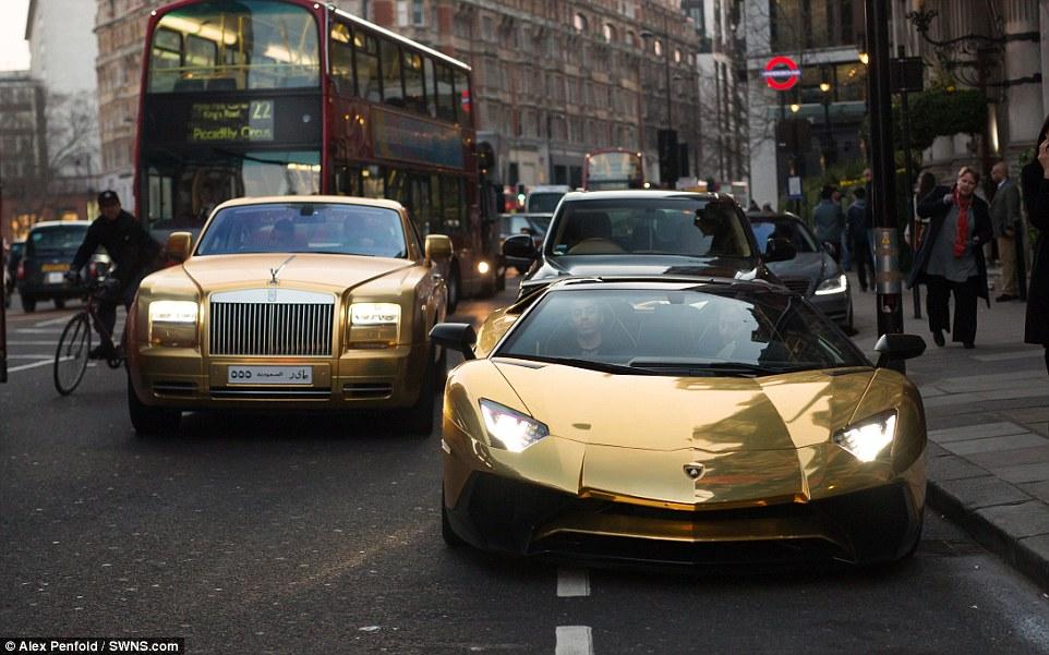 Supercar Season Starts Early In London