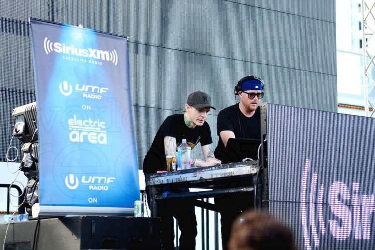Deadmau5 and Eric Prydz