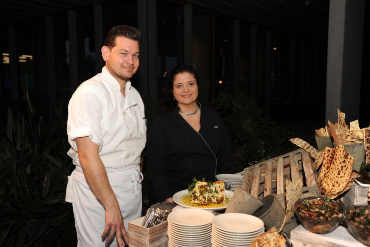 Aaron Janus & Alex Guarnaschelli by World Red Eye