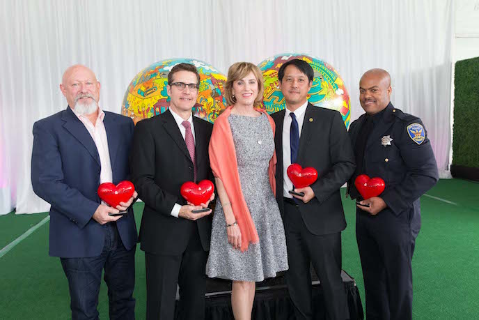 San Francisco General Hospital Foundation's Heroes & Hearts Luncheon
