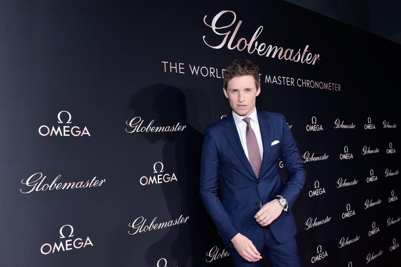 Brand ambassador Eddie Redmayne attends the launch of the Globemaster