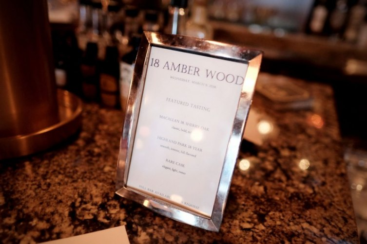 Rob Lowe Launches 18 Amber Wood 4