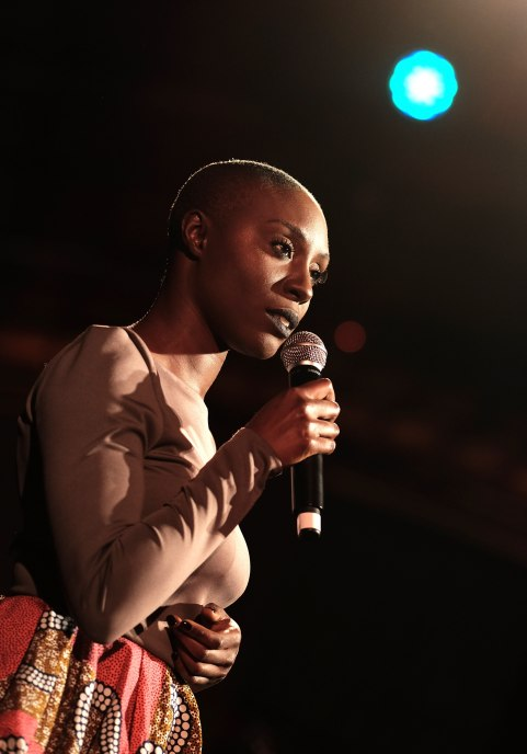 Singer Laura Mvula performs at the 20th Annual Los Angeles Gala Dinner hosted by Conservation International