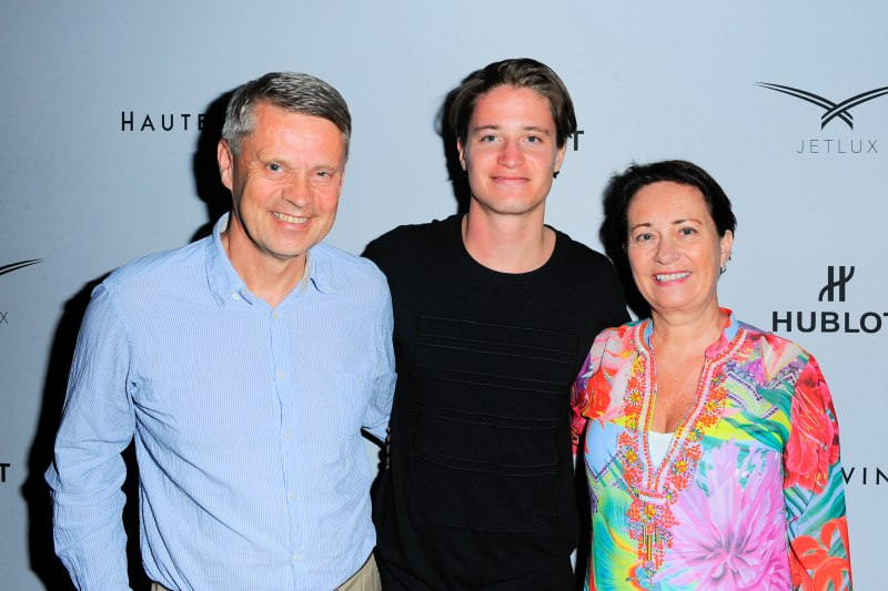 Kygo with parents, Kjersti Gjerde and Jan M. Bjordal