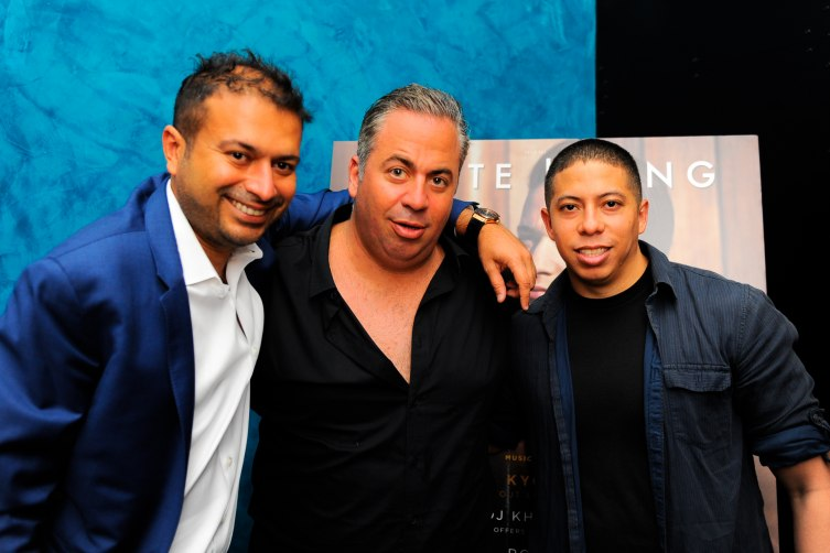 Kamal Hotchandani, Joey Goldman and Purple