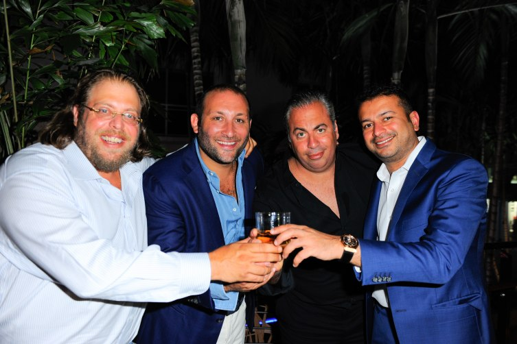 Gil Dezer, Keith Menin, Joey Goldman and Kamal Hotchandani