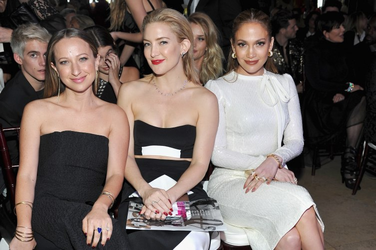 "Honoree/jewelry designer Jennifer Meyer, actress Kate Hudson and actress/singer Jennifer Lopez attend The Daily Front Row ""Fashion Los Angeles Awards"" )"""
