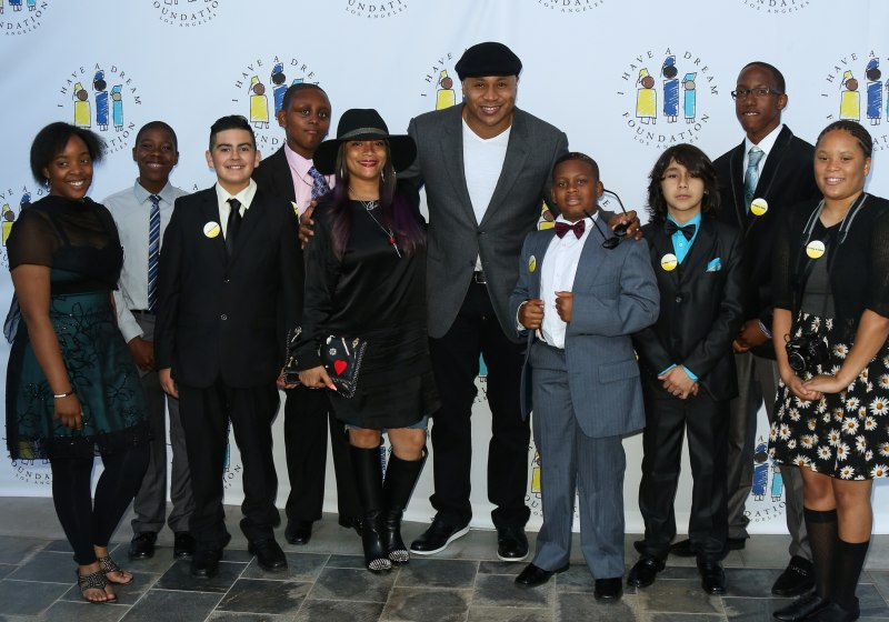 LL Cool J attends the I Have A Dream Foundation 3rd annual Dreamer Dinner