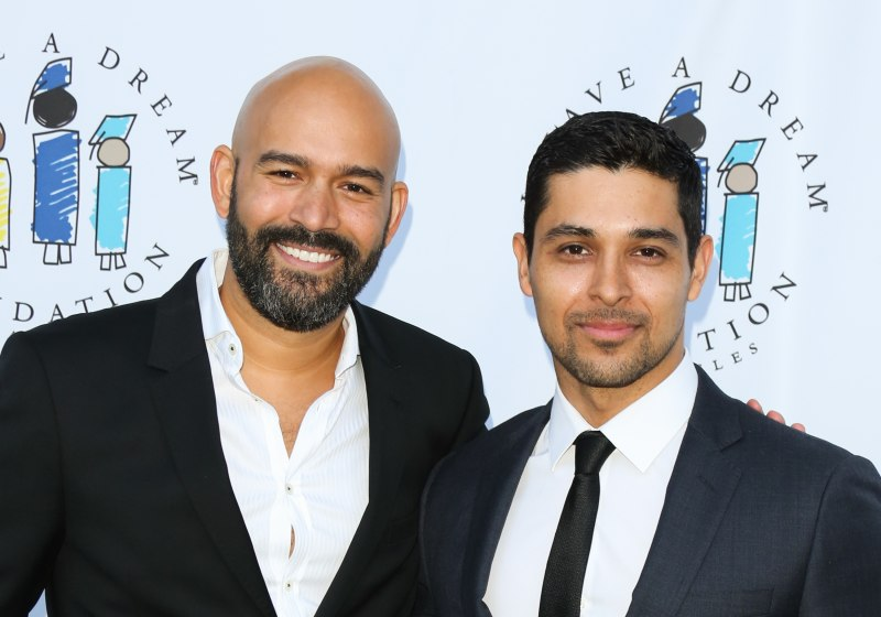 FOX Executive Terence Carter (L) and Actor Wilmer Valderrama (R) attend the I Have A Dream Foundation 3rd annual Dreamer Dinner at The Skirball Cultural Center on March 20, 2016 in Los Angeles, California. (Photo by Paul Archuleta/FilmMagic)