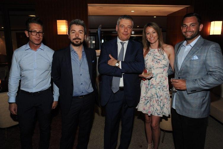 Alex da Rosa, Paolo Trevisan, Paolo Pininfarina, Kat…ames Mincy