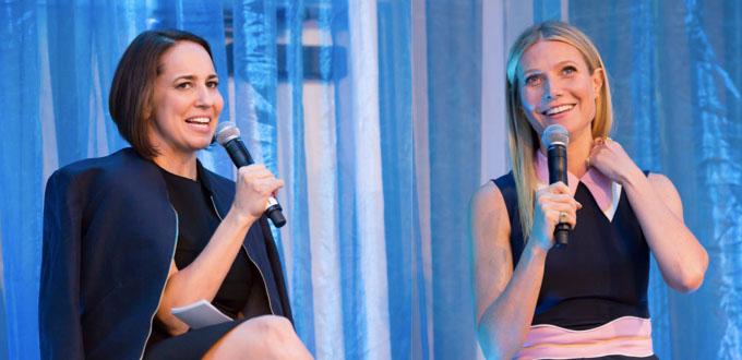 Anne Fulenwider and Gwyneth Paltrow Take 2