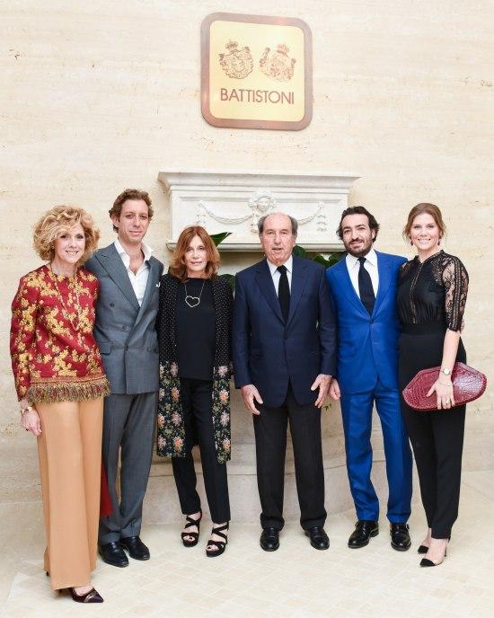 Natasha Barnaba, Alessandro Barnaba, Gianni Battistoni, Simonetta Battistoni, Luigi Gatti Bonati, Luzipina Bonati