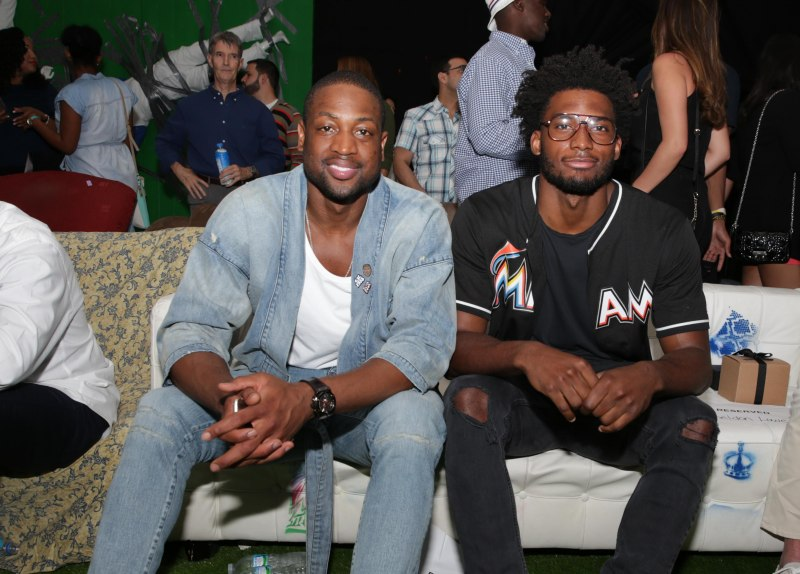 Dwyane Wade and Justice Winslow