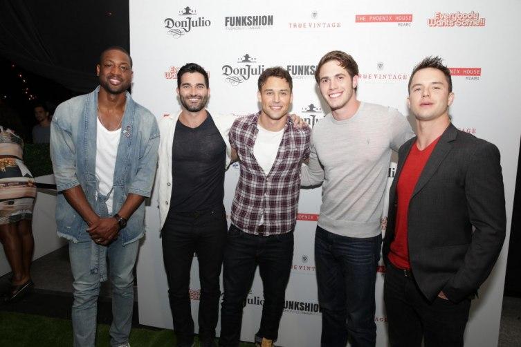 Dwyane Wade, Tyler Hoechlin, Ryan Guzman, Blake Jenner and Will Brittain
