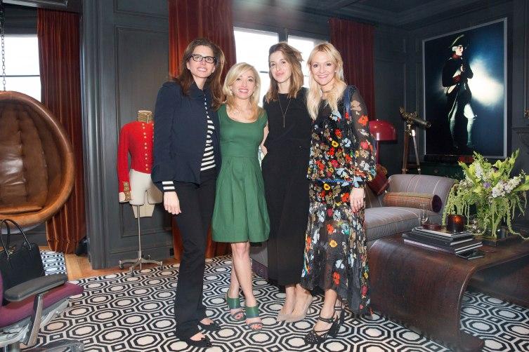 Desiree Gruber, Frederica Marchionni, Katia Beauchamp, Zanna Roberts Rassi