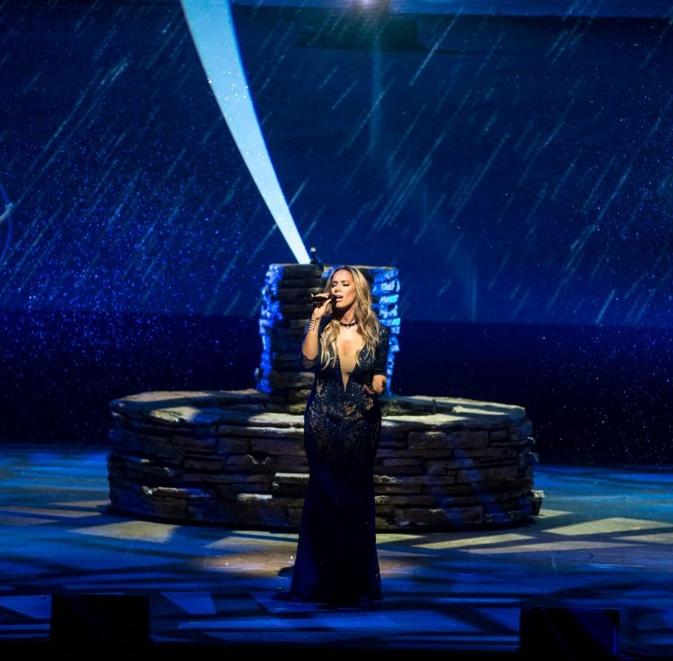 Leona Lewis performs at One Night for One Drop