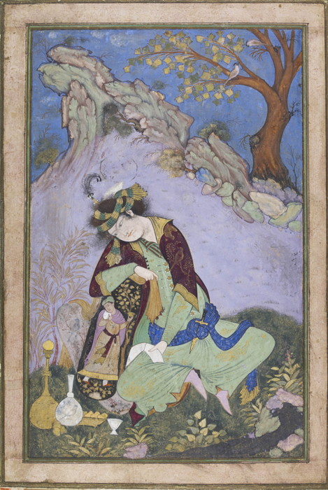 A Youth in Persian Costume from Francesco Galloway, London